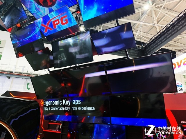 XPG的大屏幕矩阵很厉害
