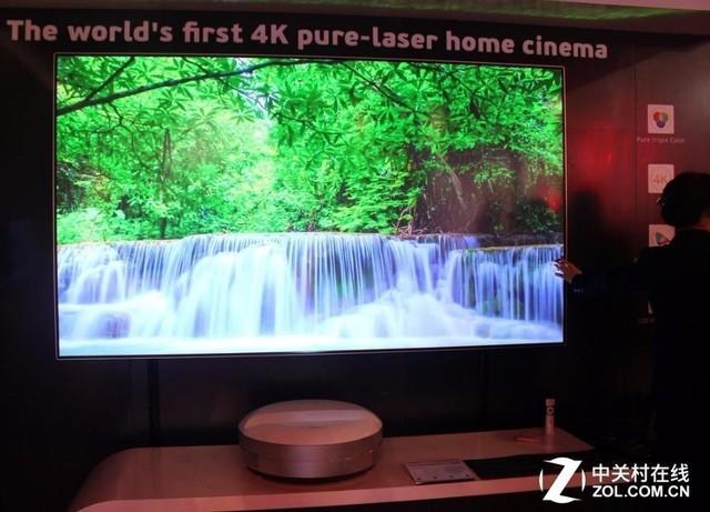 长虹C7TU 3色4K激光影院画面效果实拍