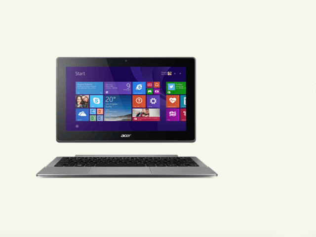 高颜值2合1:宏碁Acer Switch 11V图赏