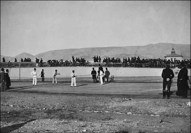 120年前的影像 1896年第一届雅典奥运会