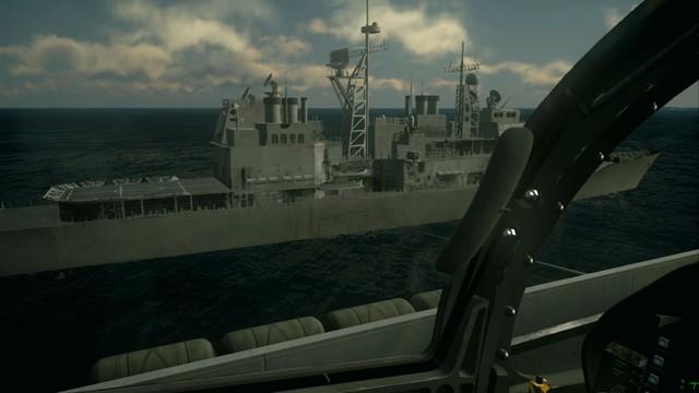 《皇牌空战7》游戏画面 战机细节披露