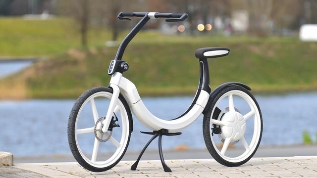 单车界的苹果?大众折叠电动两轮车Bik.e