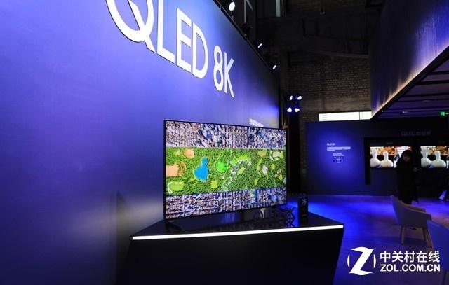 引领8K视觉革命 三星98吋8K电视现场体验