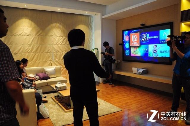 未来谁还用电视 智能家庭影院实例图赏