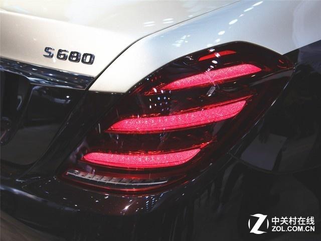 《坐井观车》车展最豪S级——迈巴赫S680